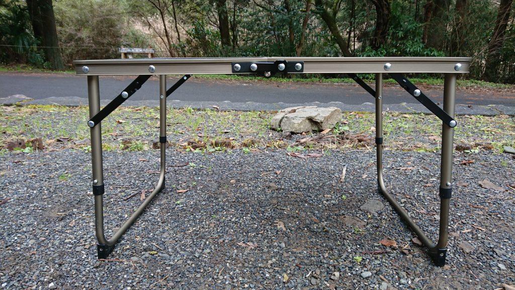 クイックキャンプ VTハーフテーブル