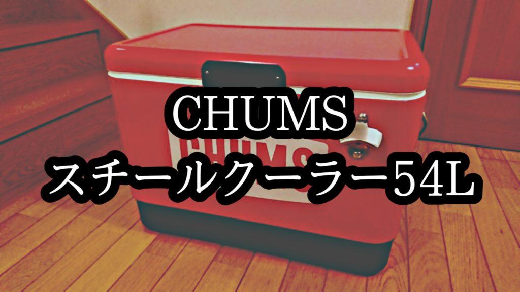 チャムススチールクーラー54L
