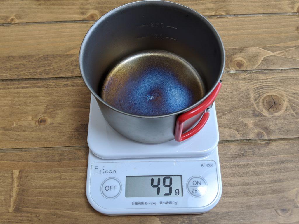 チタンカップ400FD RED【EBY265R】