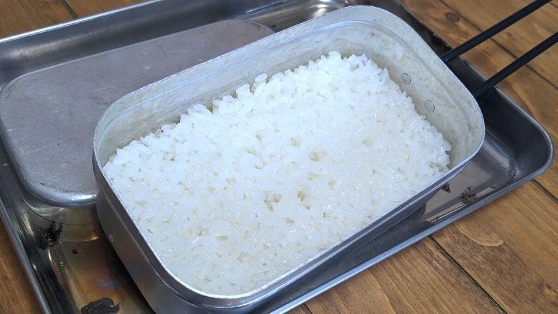 メスティンで5分で炊けるお米