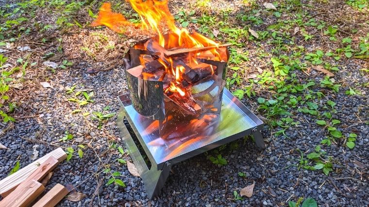 焚火台ベーススタンド